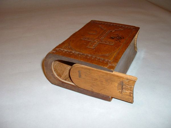 What is it? It is a spruce gum box!